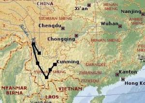 Kurztripp Yunnan