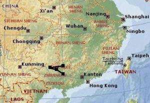 Kurztrippe Guangxi