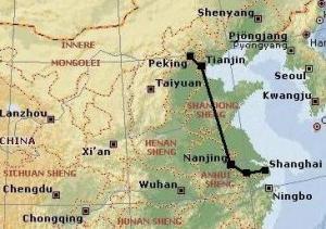 300kmh peking shanghai